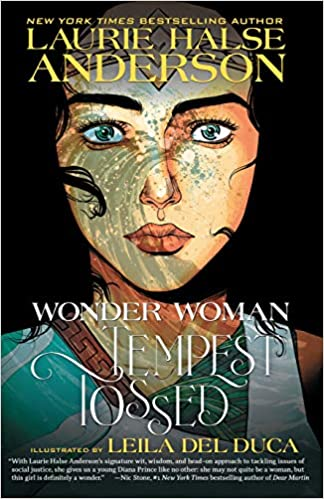 Wonder Woman: Tempest Tossed book cover
