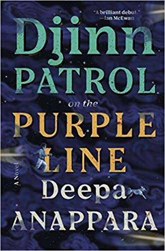 Djinn Patrol on the Purple Line book cover