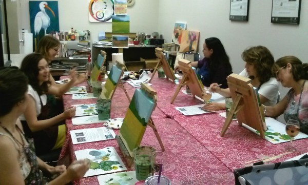 Adult Paint Party Paintings