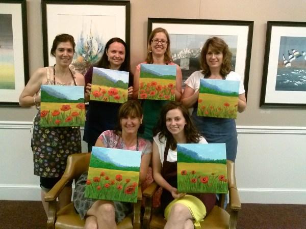Paint Parties Paintings