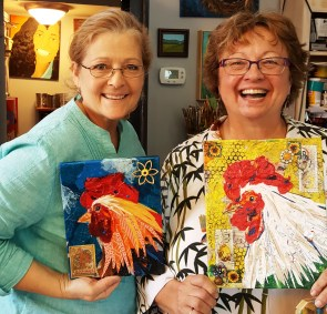 Rooster Denise and Kelly