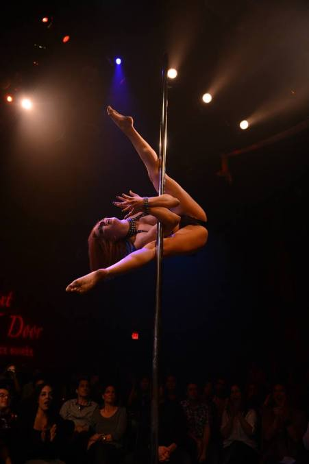 "KAYLIN (aka ""Tempest Rae"") 2014 Pacific Pole Championships (Los Angeles) Level 3 Championship Division - 1st Place Reprised for the Girl Next Door stage Choreography and Coaching by Kelly Yvonne VIDEO: COMING SOON!"