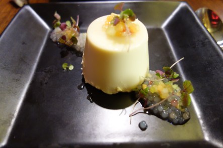 Ginger and star anise panna cotta