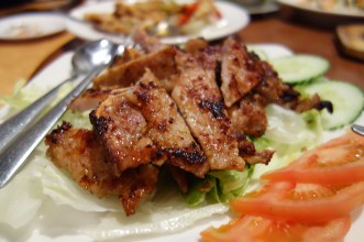 Pork spare ribs in Vietnamese style
