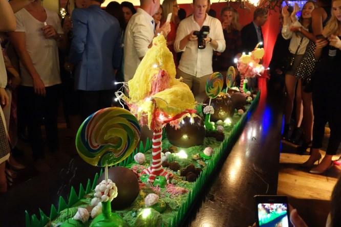 Candy wonderland dessert