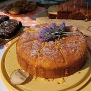 mandarin lavender cake
