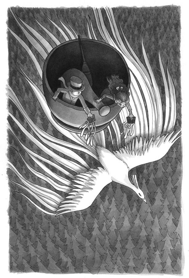 Kelly Murphy Illustration The Door By The Staircase 2016