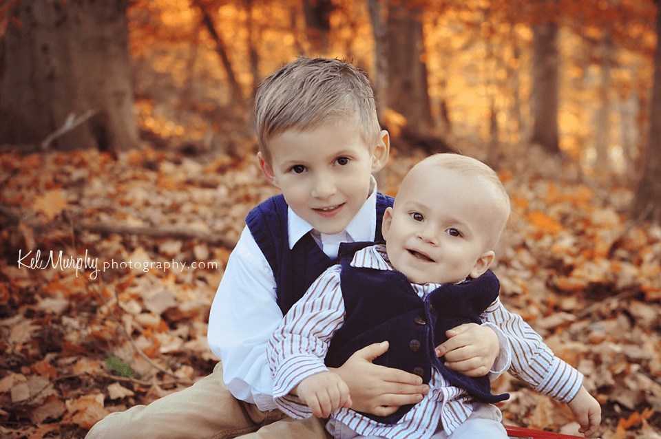 Gorgeous Family Of Four And A Holiday Mini Session