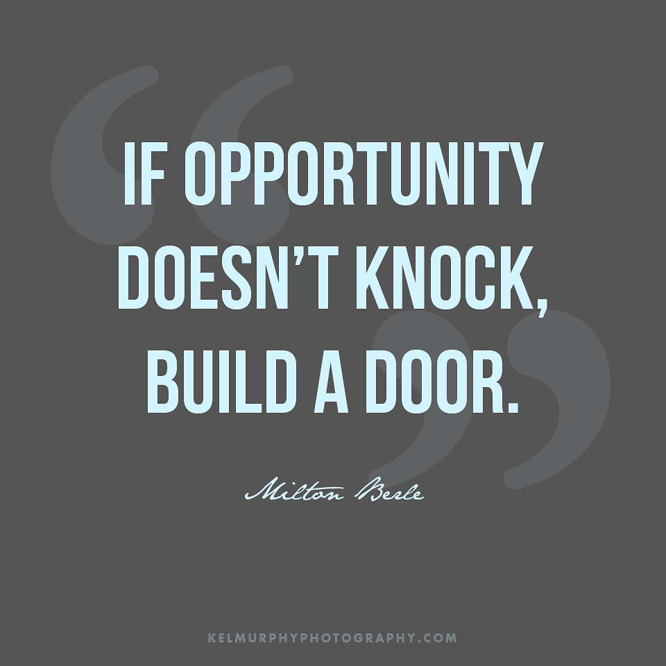 Comfort Zone Motivational Quotes Wallpaper If Opportunity Doesn T Knock Build A Door Wordy