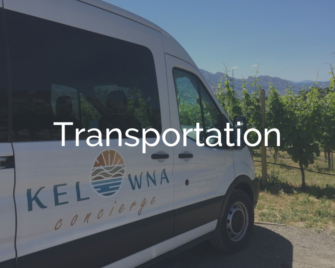 Kelowna Concierge Transportation Services