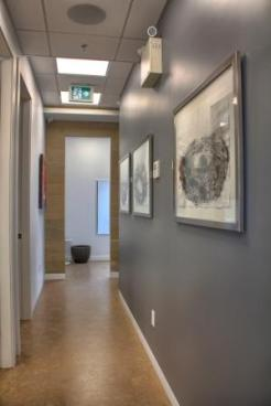 Hallway to Reception from Operatory 4