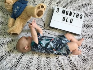 Luca Michaelangelo at 3 months old