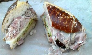 Porchetta Sandwich Salumeria