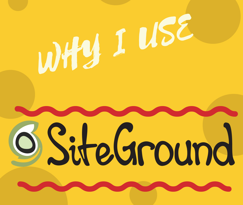 Why I Use SiteGround