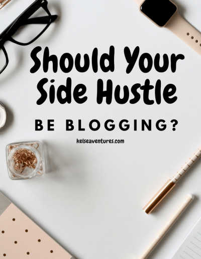 Make A Side Hustle Blogging