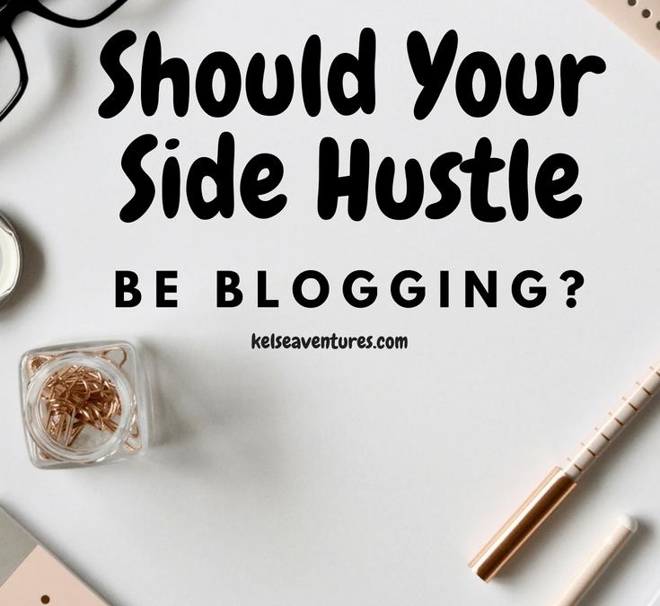 Make A Side Hustle Blogging