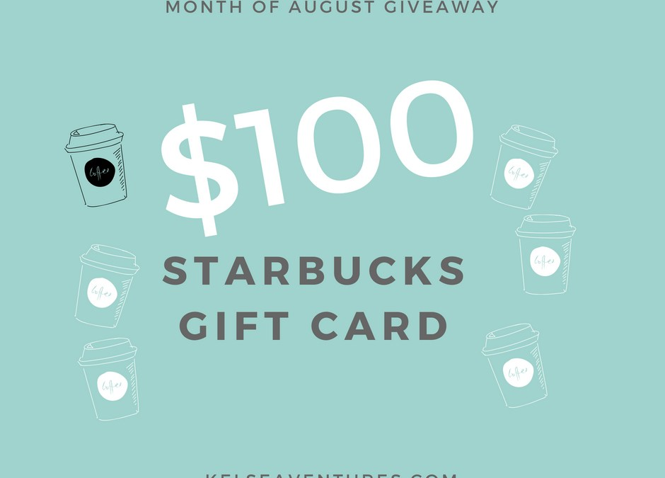 The Monthly Giveaway