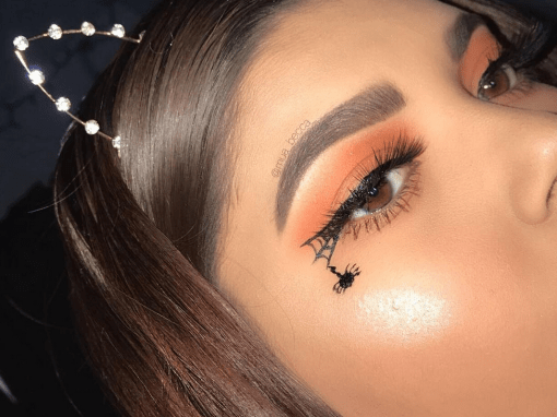 10 Spider Web Eyeliner Looks Perfect For Halloween