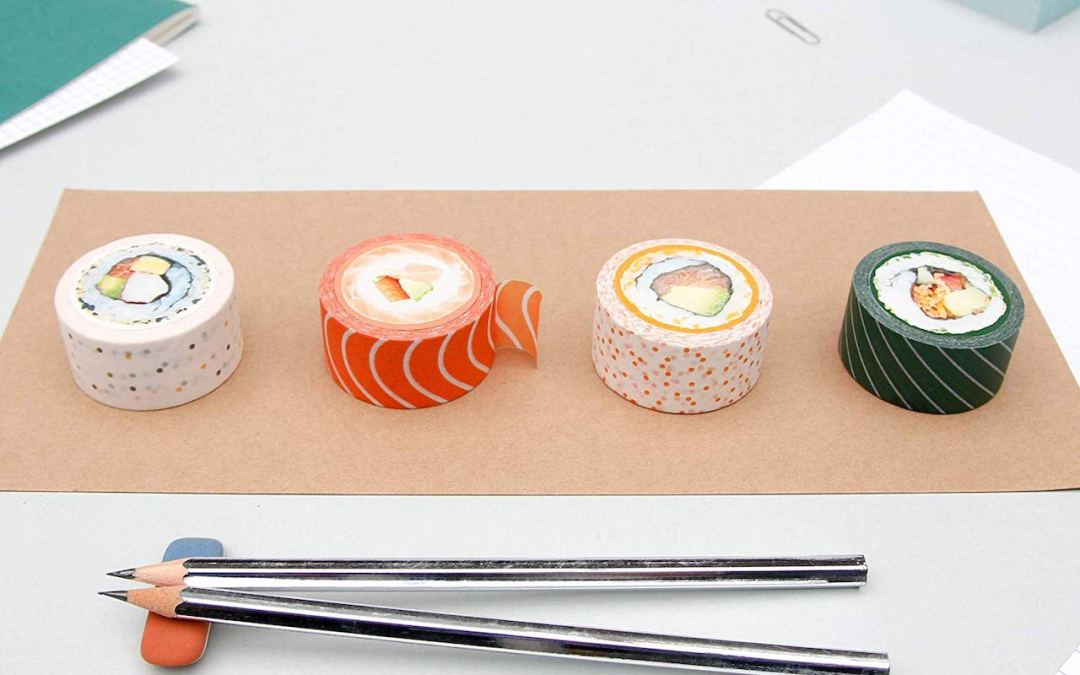 This Cute Washi Tape Looks Just Like Sushi