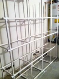 DIY Saturday  PVC Tote Storage Organizer | Being Womanly