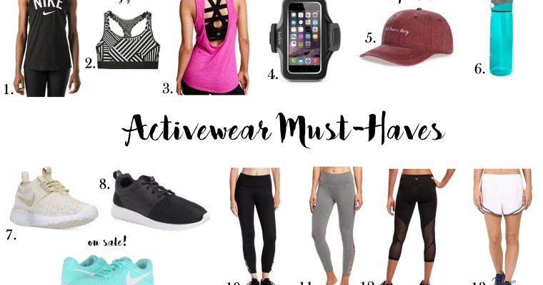 Activewear Must-Haves
