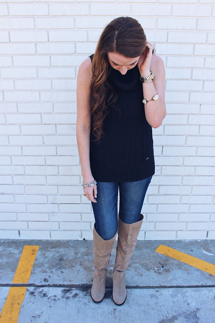 sleevelessandsuedefulloutfit