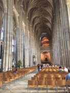 Inside Canterbury Cathedral (via K. Emmons)