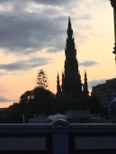Sir Walter Scott monument (via K. Emmons)