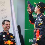 Ricciardo's ritual returns at Monaco Grand Prix