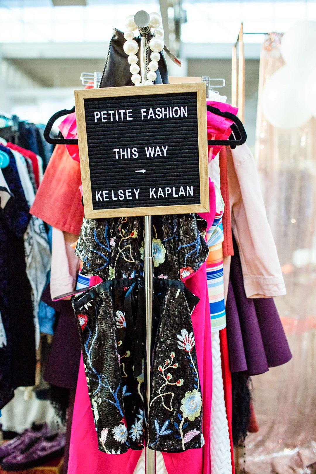 Lifestyle blogger Kelsey Kaplan of Kelsey Kaplan fashion celebrates female empowerment at Femme Fair