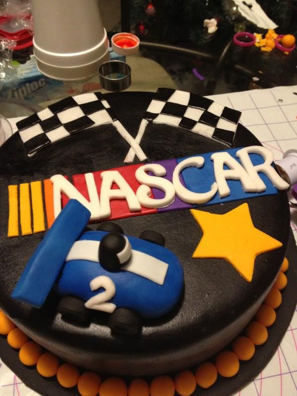 Nascar Cake Jill Of Trades