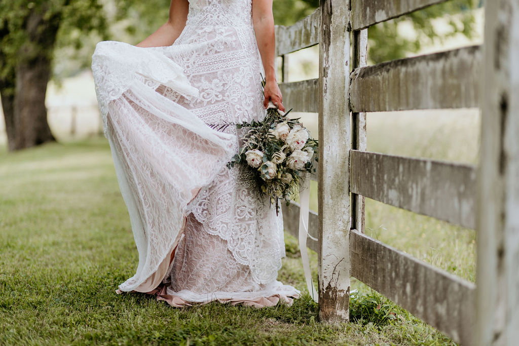 outdoor bridals in eastern tennessee wedding