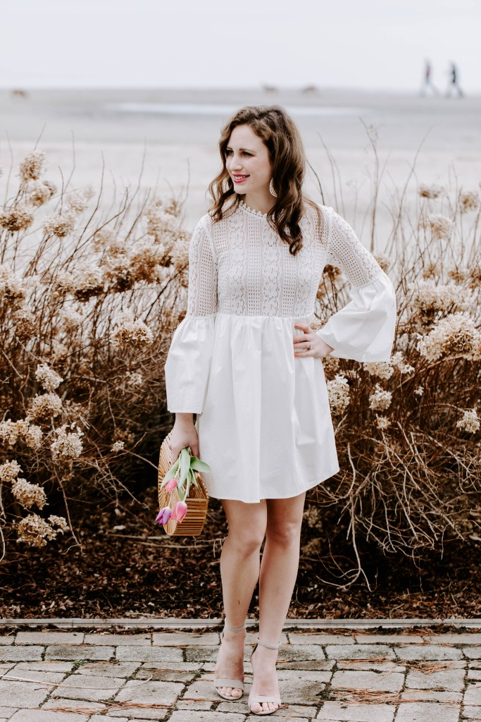 The cinched waist of this LWD is so flattering and the style can easily transition from day to evening