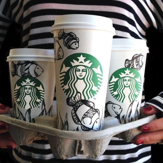 Kelsey Montague Starbucks