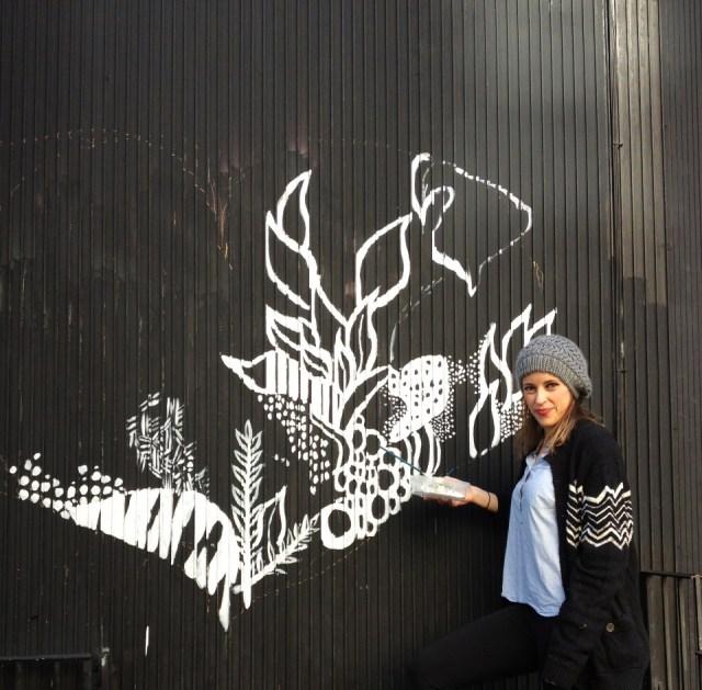Kelsey Montague street art