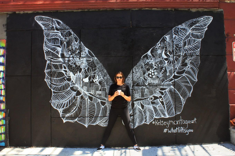 Laughing Man Angel Wings 1