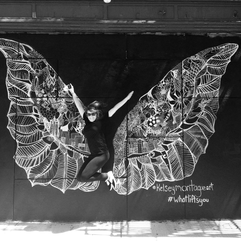 Laughing Man Angel Wings 3