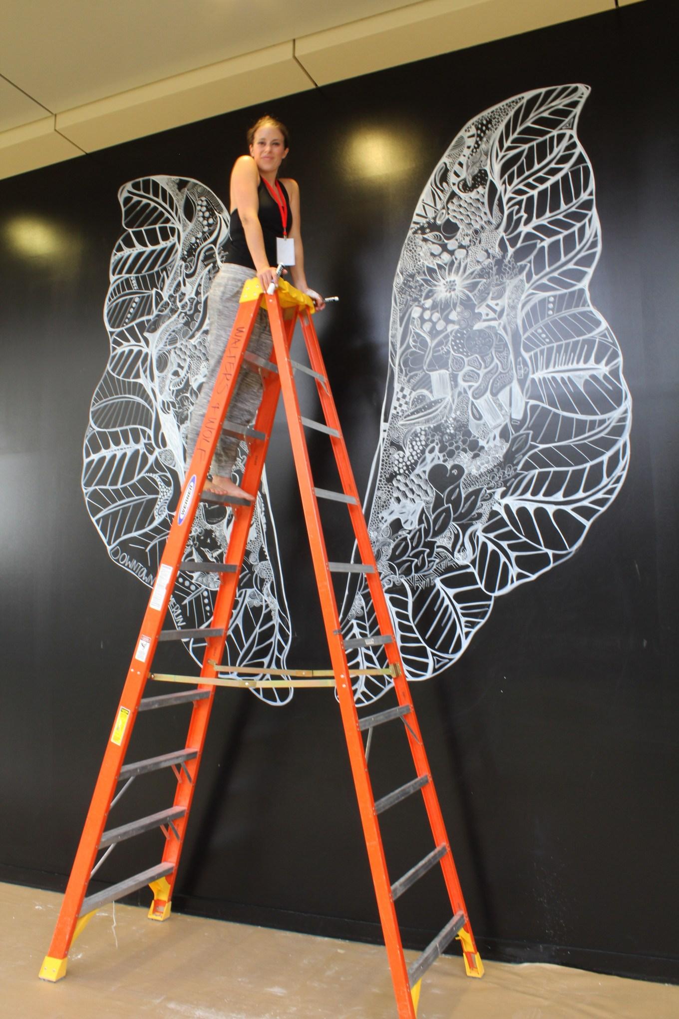 Kelsey Montague Art wings Wip 10