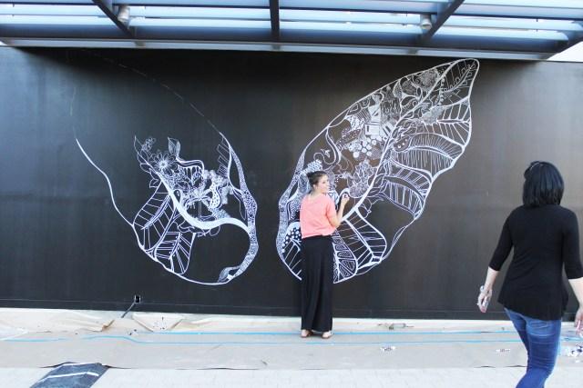 Kelsey Montague Art wings Wip 3