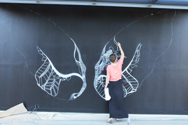 Kelsey Montague Art wings Wip 4