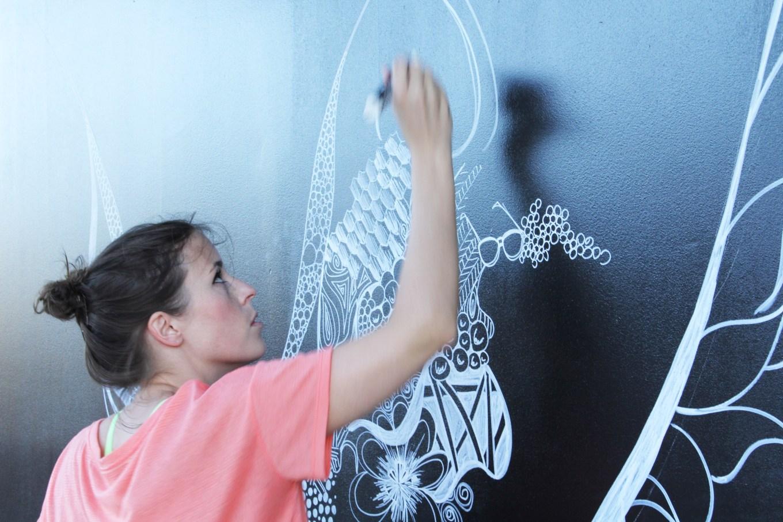 Kelsey Montague Art wings Wip 5