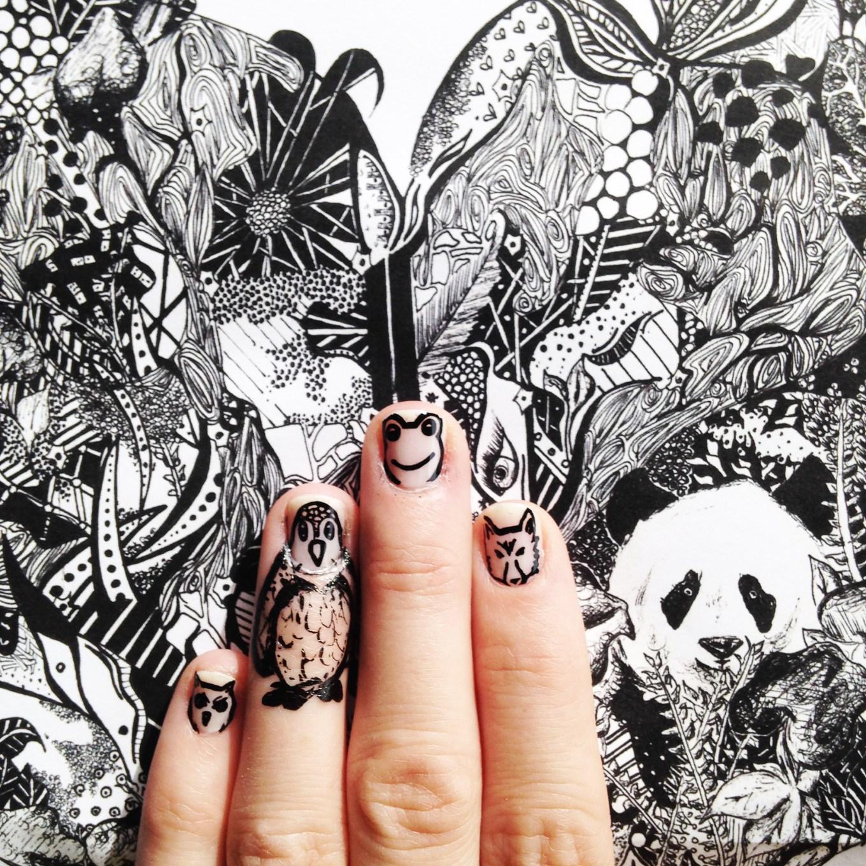 Kelsey Montague Art for Scratch Nails 12
