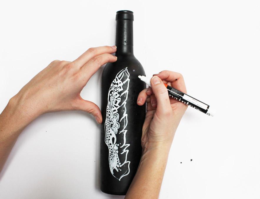 Wine Bottle 6