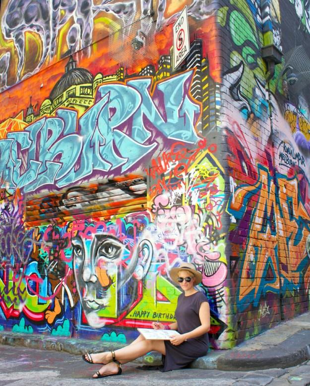 Hosier Lane Melbourne cropped
