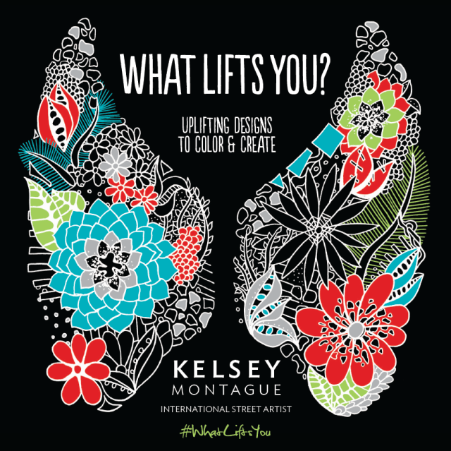 Kelsey Montague Art whatliftsyou angel wings
