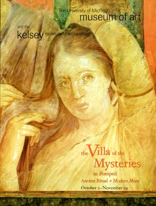 Poster from 2000 Villa of the Mysteries exhibition