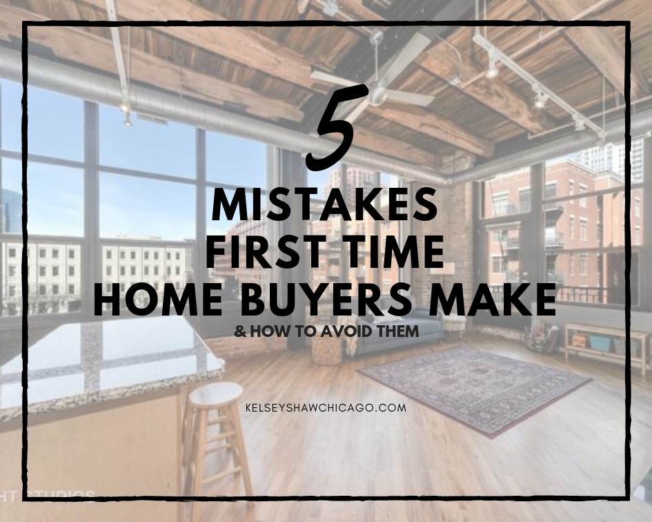 5 common mistakes first time home buyers make