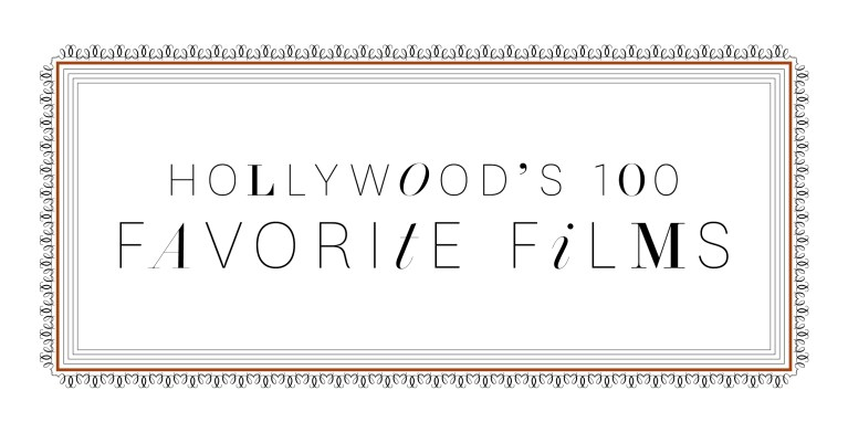 Hollywood's 100 Favorite Films / The Hollywood Reporter / 7.18.14 / kelsey stefanson / art direction + graphic design / yeskelsey.com