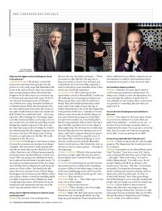 The Composer Roundtable / The Hollywood Reporter / 2013 / kelsey stefanson / art direction + graphic design / yeskelsey.com