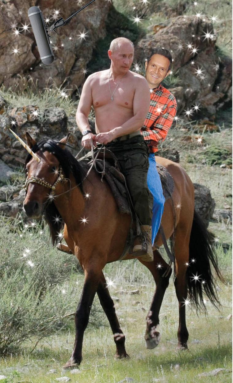 Mark Burnett Pursuing Putin for Reality Series / The Hollywood Reporter / 7.17.15 / kelsey stefanson / art direction + graphic design / yeskelsey.com